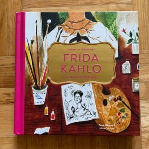 Frida Kahlo Illustrated Hardcover Book